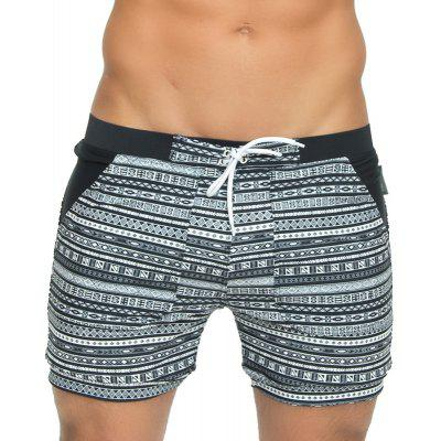 Taddlee Sexy Men's Swimwear Swimsuits Long Basic Traditional Cut Swim Boxer Trunks Surf Board Shorts Bathing Suits