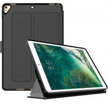 Smart Cover Case for iPad Air2 Pu Leather Book Flip Cover with Trifold Stand Sleep