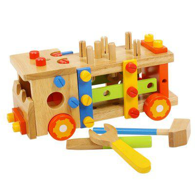 Assembling and More Fun for Kids Pratice Tools Truck Other Educational Toys
