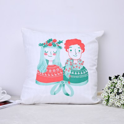 Christmas Pillows, Cute Kittens and Lovers.