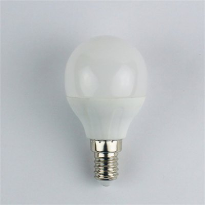 4W E14 LED Globe Bulbs G45 6 leds SMD 3528 Warm White 310lm 3000K AC 110-240V