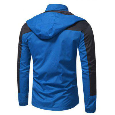 Mens Hiking 3-in-1 Jackets Outdoor Winter Casual Snow SportsMens Jackets &amp; Coats<br>Mens Hiking 3-in-1 Jackets Outdoor Winter Casual Snow Sports<br><br>Clothes Type: Others<br>Hooded: Yes<br>Materials: Polyester, Lycra<br>Package Content: 1 X Coat<br>Package size (L x W x H): 1.00 x 1.00 x 1.00 cm / 0.39 x 0.39 x 0.39 inches<br>Package weight: 0.7800 kg<br>Pattern Type: Patchwork<br>Size1: M,L,XL,2XL<br>Style: Active<br>Thickness: Medium thickness<br>Type: Wide-waisted