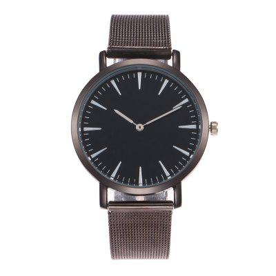 The New Popular Ladies Watch Simple Design Fashion Network with Personalized Diamond Watch + Gift Box