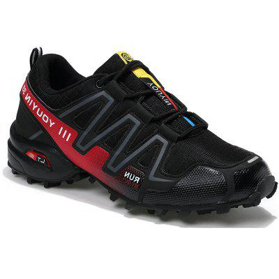 2017 New Fall Men'S Shoes Non-Slip Wear-Resistant Lace Round Sports Shoes Round Low Men'S Hiking Shoes