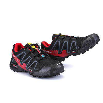 Fall 2017 New Men'S Non-Slip Shock Absorbing Hiking Shoes Outdoor Sports Breathable Hiking Shoes Men