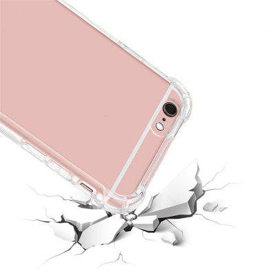 Crystal Clear for iPhone 6 Case Cover Case with Shockproof Bumper and Scratch Resistant Hard Plastic floral crystal clear print hard case for