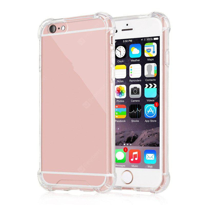 Crystal Clear for  iPhone 6 Case Cover Case with Shockproof Bumper and Scratch Resistant Hard Plastic
