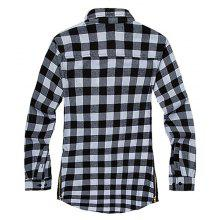 Comfortable Men'S Cotton Casual Long-Sleeved Shirt