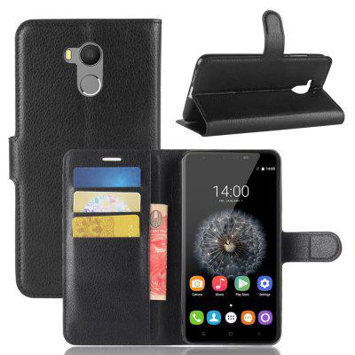 PU Leather Full Cover Wallet Phone Case for Oukitel U15 Pro