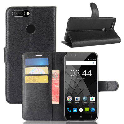 PU Leather Full Cover Wallet Phone Case for Oukitel U22