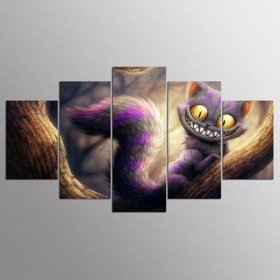 YSDAFEN HD Impreso Cat Canvas Print Room Decor Poster Imagen