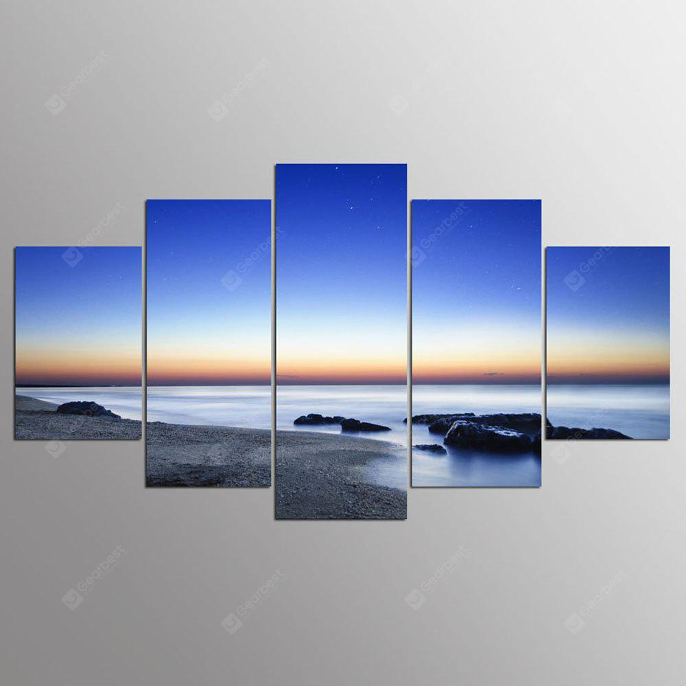 YSDAFEN 5 Panel Modern California Hd Canvas Art para Living Room Wall Picture