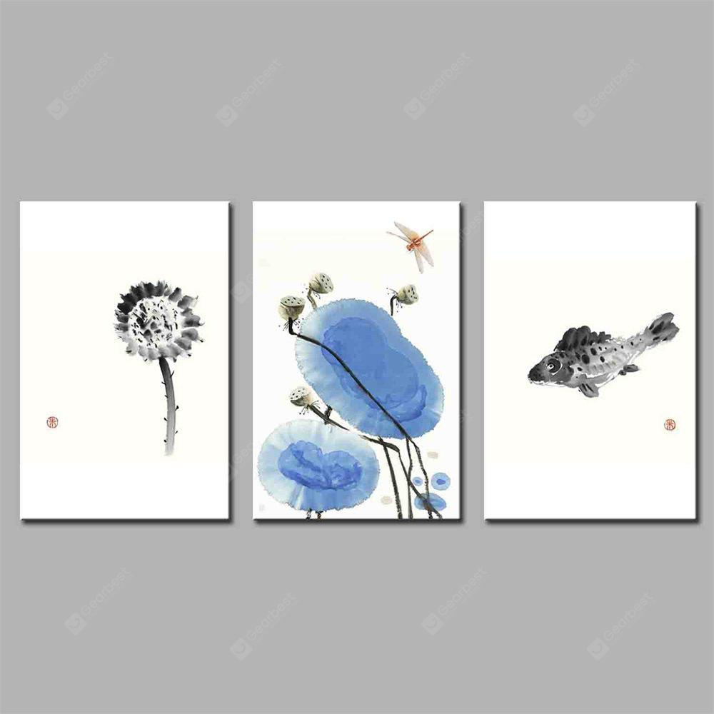 Hua Tuo Animal Style Stretched Frame Ready To Hang Size 50 x 70CM A1759