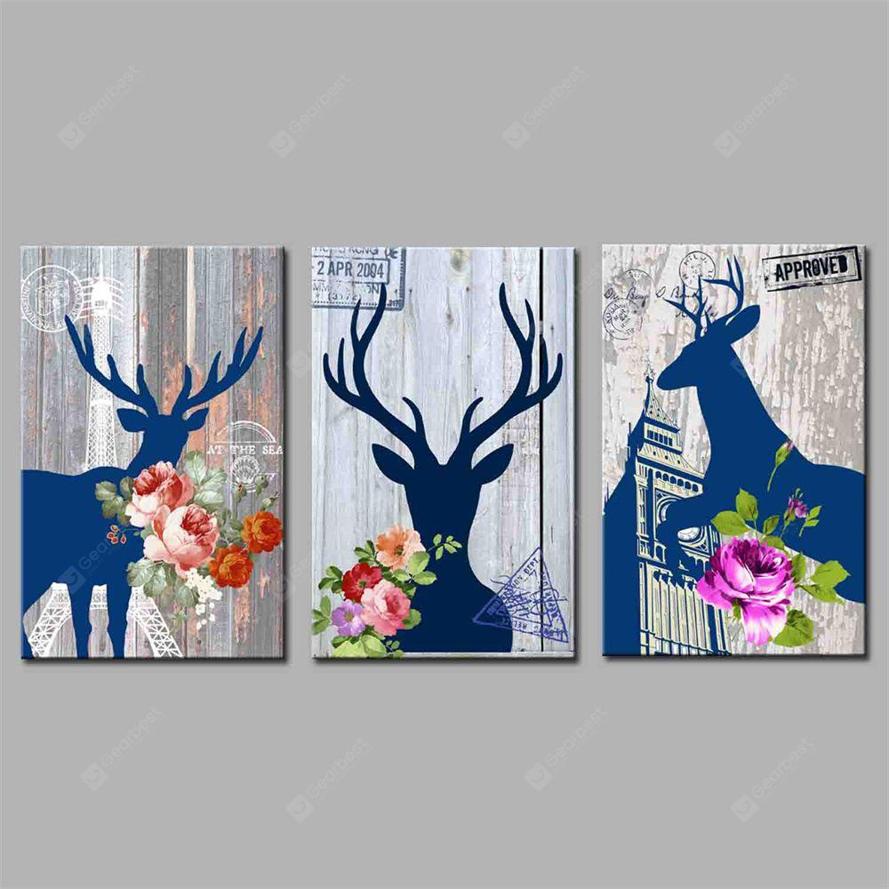 Hua Tuo A Deer Has You Style Stretched Frame Ready To Hang Size 50 x 70CM A1764