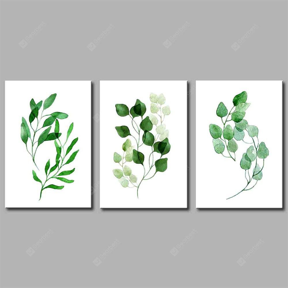 Hua Tuo Plant Style Stretched Frame Ready To Hang Size 50 x 70CM A1782