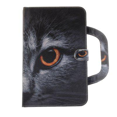 Stereoscopic Painted PU Leather Case for Samsung Galaxy Tab E 9.6 T560