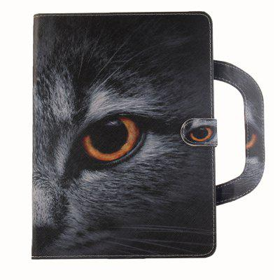 Stereoscopic Painted PU Leather Case for Samsung Galaxy Tab S2 T815