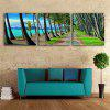 Special Design Frameless Paintings Tree Print 3PCS - GREEN