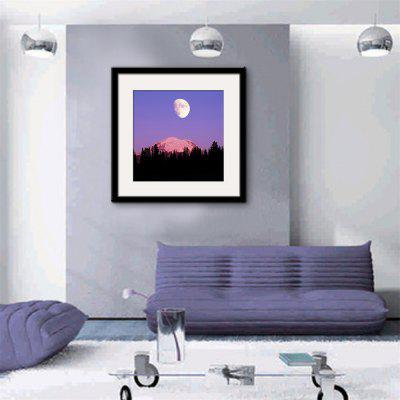 Special Design Frame Paintings The Moon On A Volcano Print