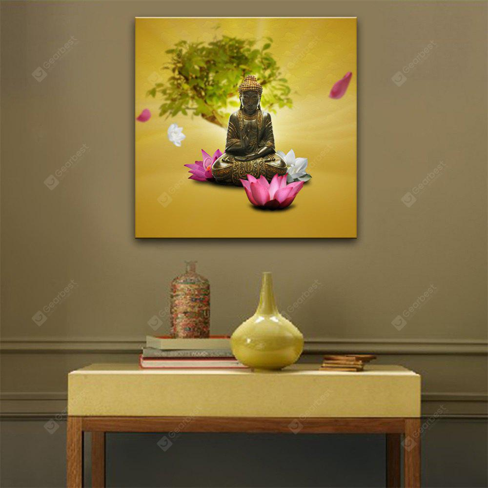 Special Design Frameless Paintings Lotus Print