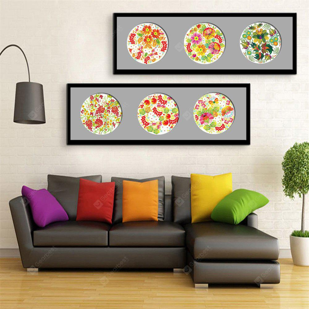 Special Design Frame Paintings faceplate Print 2PCS