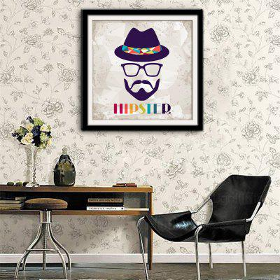 Special Design Frame Paintings Human Face Image Print