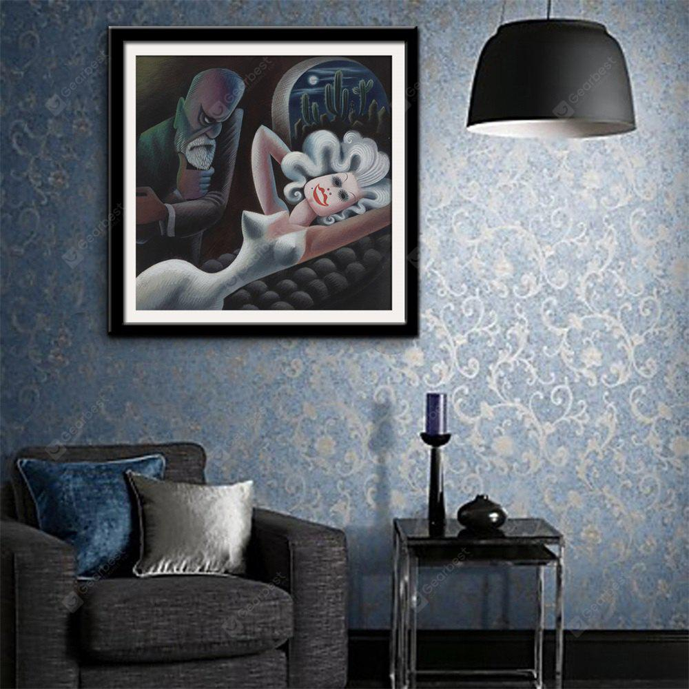 Special Design Frame Paintings Evil Eyes Print