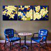Special Design Frameless Paintings  Chrysanthemum  Print 3PCS - WHITE