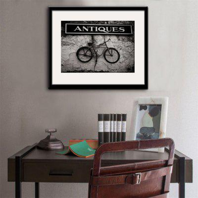 Special Design Frame Paintings The Bicycle Print