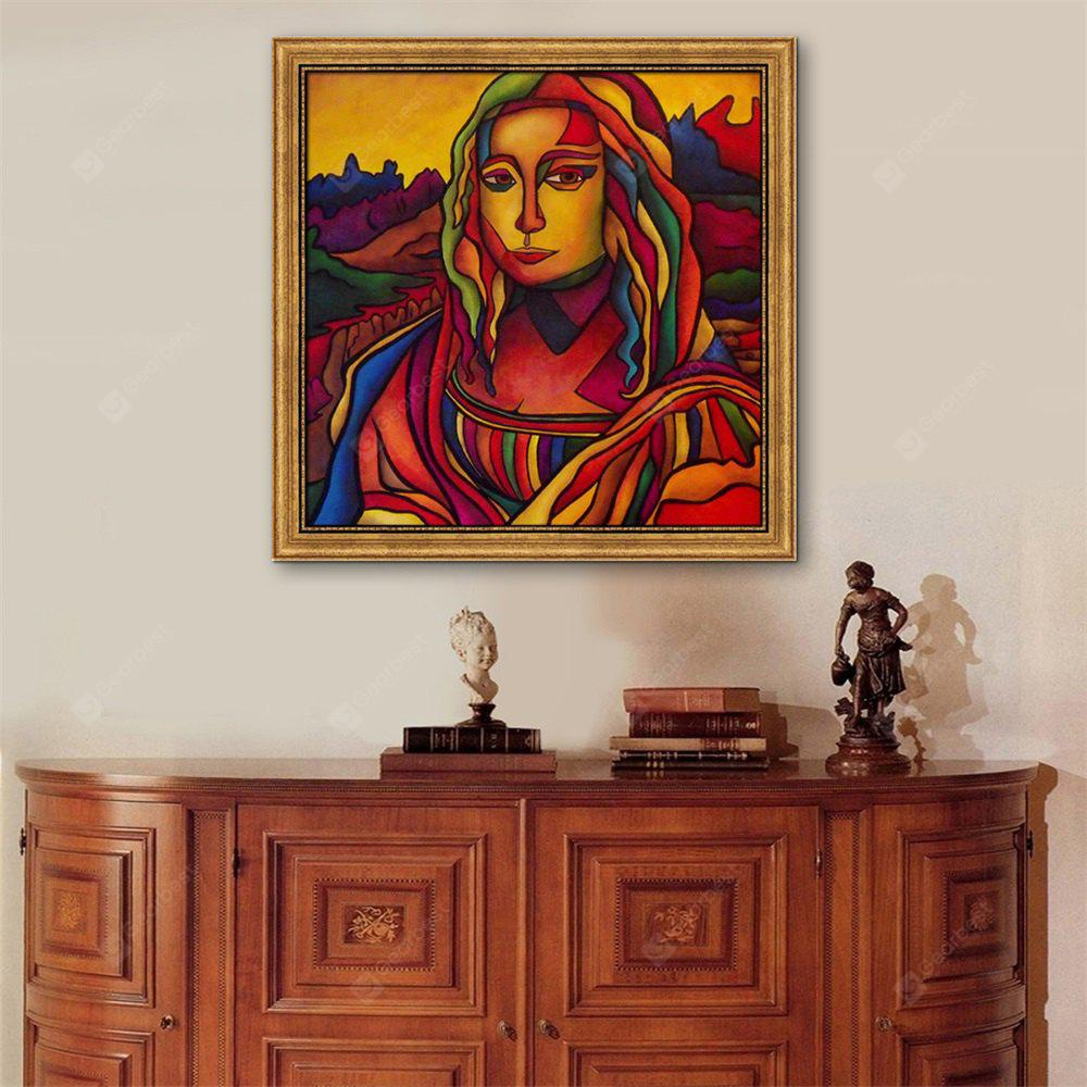 Special Design Frame Paintings A beautiful woman in a strange dress Print