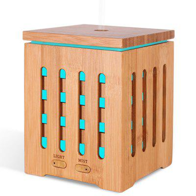 High Quality Portable LED Light Ultrasonic Humidifier Therapy 200ML Home Bamboo Aroma Diffuser