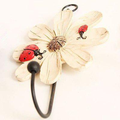 Resin - Wrought - Iron - Painted Flower WallHome Gadgets<br>Resin - Wrought - Iron - Painted Flower Wall<br><br>Materials: Wood<br>Package Contents: 1 x Couple<br>Package Size(L x W x H): 15.00 x 10.00 x 5.00 cm / 5.91 x 3.94 x 1.97 inches<br>Package weight: 0.0500 kg