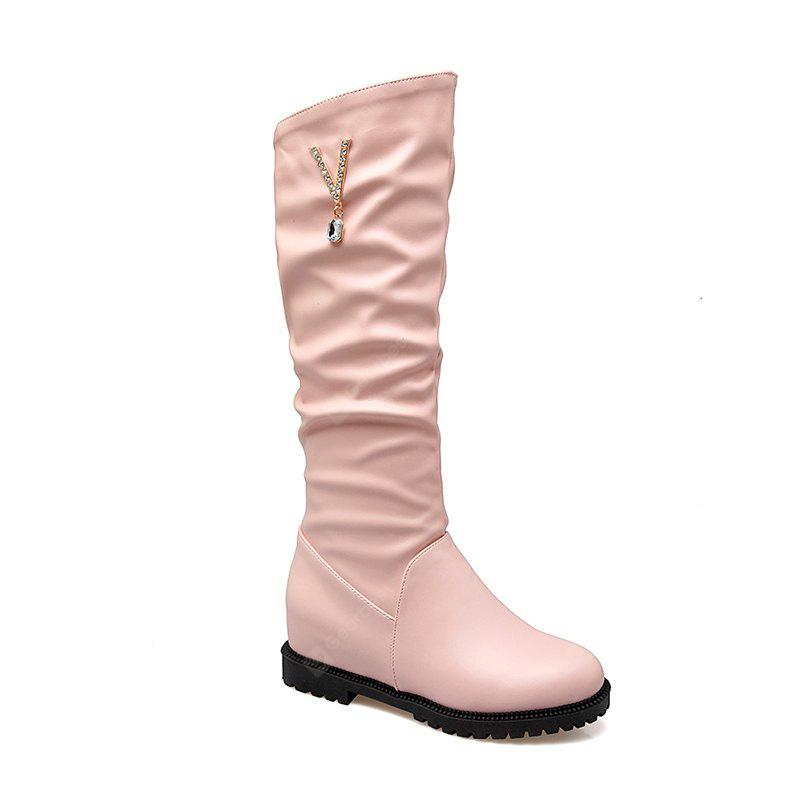 Autumn And Winter New Sweet Inside Raise  Boots
