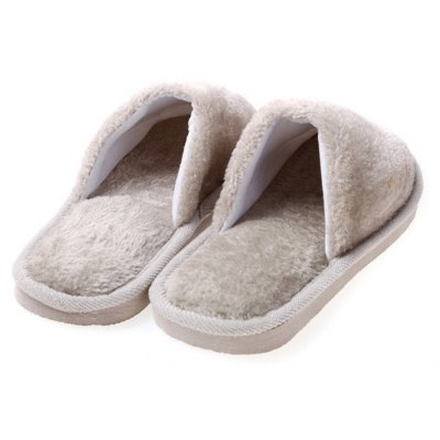 The New Home-Color Lovers Cotton SlippersSlippers &amp; Flip-Flops<br>The New Home-Color Lovers Cotton Slippers<br><br>Available Size: 37,38,39,40,41,42,43,44<br>Gender: Unisex<br>Heel Type: Flat Heel<br>Outsole Material: Rubber<br>Package Contents: 1xShoes(pair)<br>Pattern Type: Others<br>Season: Winter<br>Slipper Type: Indoor<br>Style: Concise<br>Upper Material: Flock<br>Weight: 1.0800kg