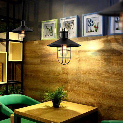 Industrial Ceiling Light Fixture Retro Pendant Lamps for House Bar Restaurants Coffee Shop Club Decoration