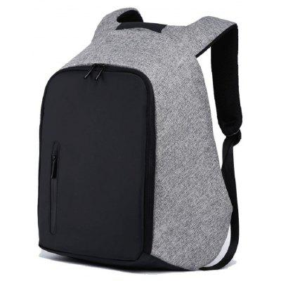 Mens Large Canvas 15 Inch Anti-theft Backpack