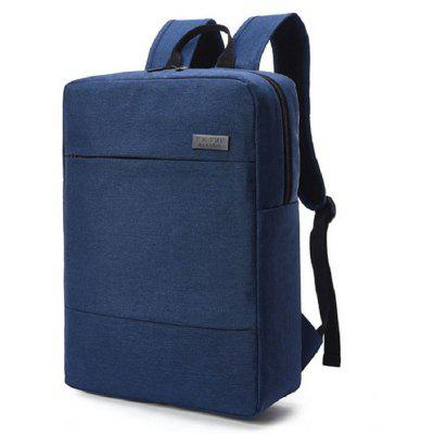 Waterproof Canvas Business Bag 15 Inch Laptop Backpack