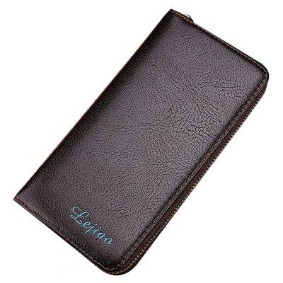 Man Bag Long Wallet Wallet Wallet Simple Business