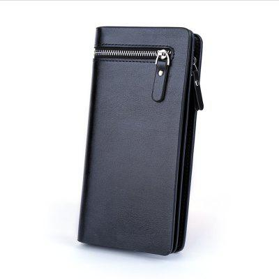 Single Men Pull Long Wallet Handbag Wallet Wallet Business