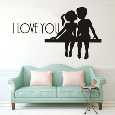 DSU venta caliente PS I Love You Vinilo Wall Quotes Stickers refranes Home Art Decal