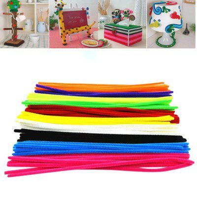 100PCS Wool Top Twist Wire Children Educational Toys DIY Craft Materials Handmade Art