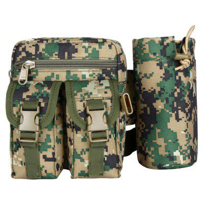 FLAMEHORSE Outdoor Camouflage Tactical Pockets Climbing Kettle Package