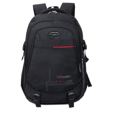 Simple Business Casual College Wind Computer Bag Waterproof Travel Backpack