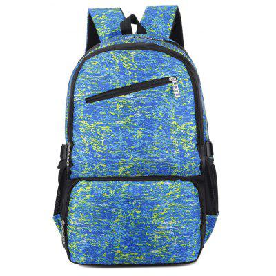FLAMEHORSE Outdoor Casual Largecapacity Computer Backpack Men and Women Travel Backpack