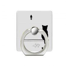 Cat Pattern Cell Phone Ring Stand Holder for Phone