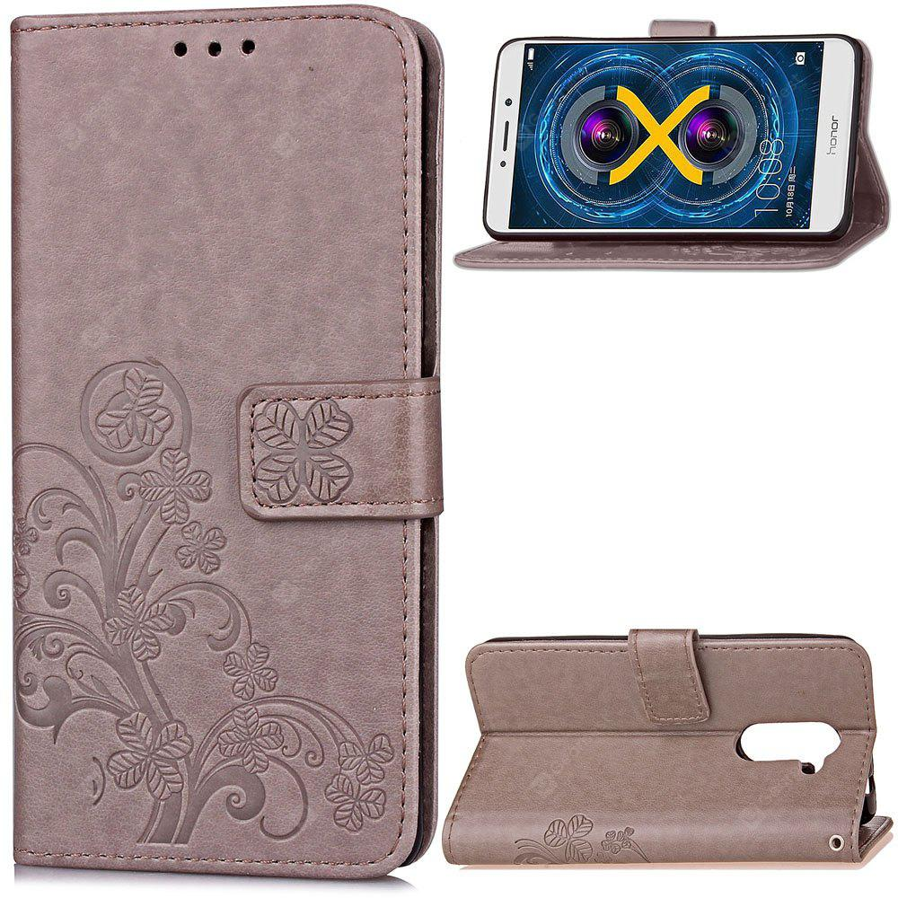 Embossing Card Slot Wallet Cover Case for Huawei Honor 6X