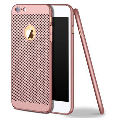 Heat Dissipation Breathable Matte PC Phone Case for iPhone 6 / 6s