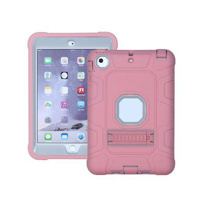Anti-dust Detachable 2-in-1 Shock Proof Protective Silicone + PC Kickstand Shell for iPad mini 1/2/3