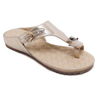 Women'S Sandals Are A Comfortable Anti Slip Waterproof and Breathable Foreign Trade Large Size Flat Sandals