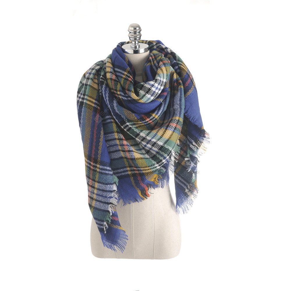 Salybaby New Plaid Scarf for Women